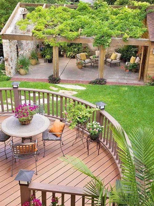 最流行庭院高清图