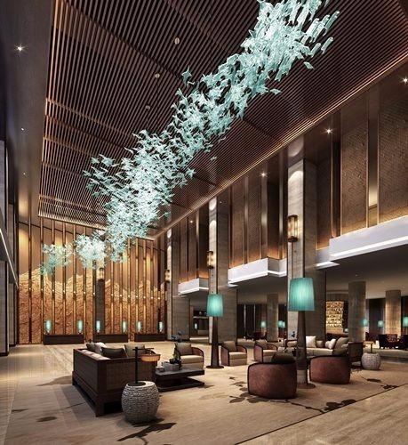 酒店大堂参考设计