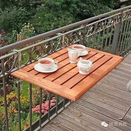 高端阳台的装潢效果图