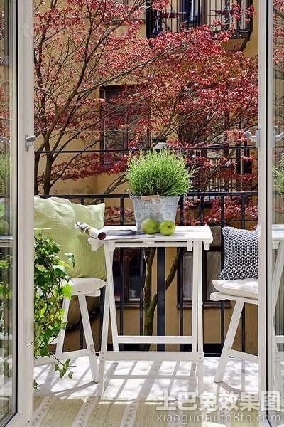 个性阳台的装饰 设计