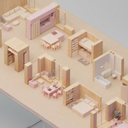 普通室内设计设计参考