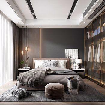 卧室设计 图库