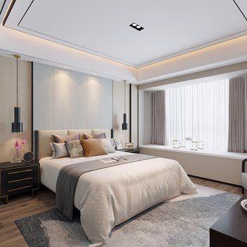 时尚卧室图片 设计