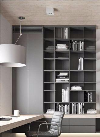 最流行书房设计 图库