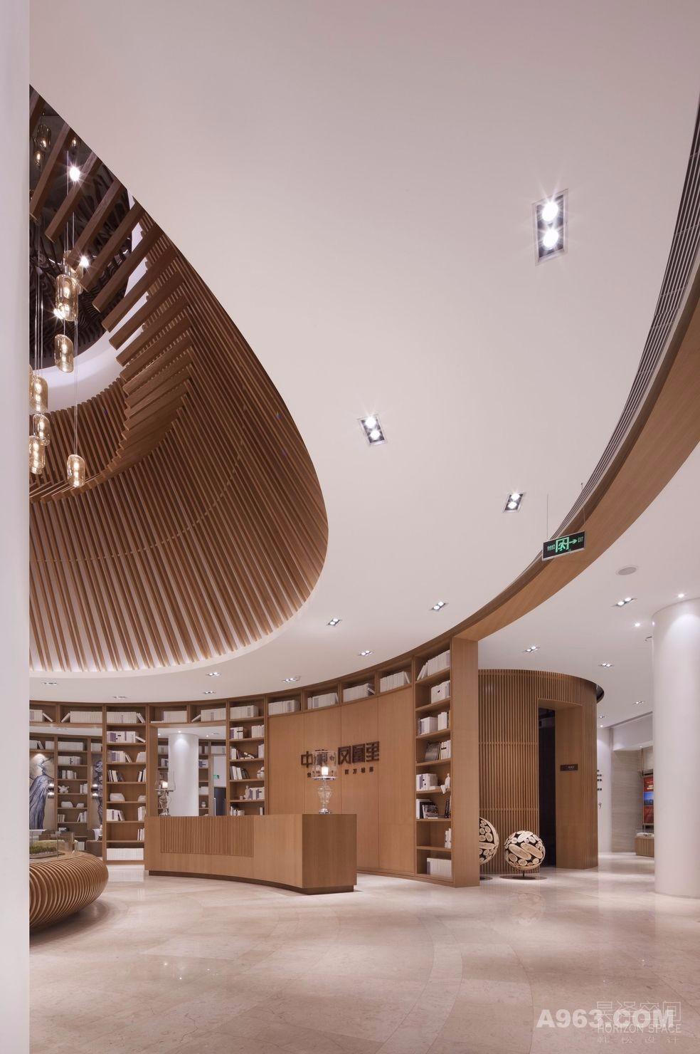 高端售楼处装潢设计