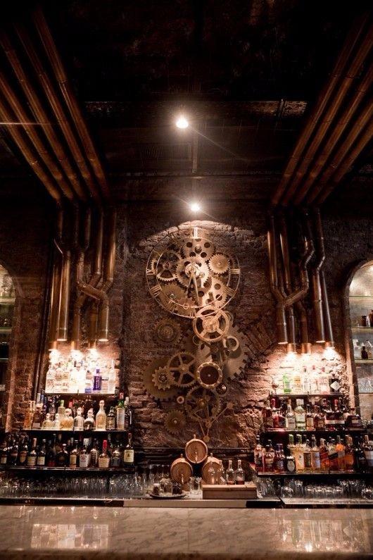 创意酒吧设计图
