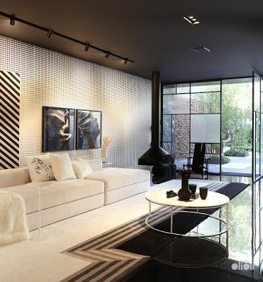 小清新客厅制作设计