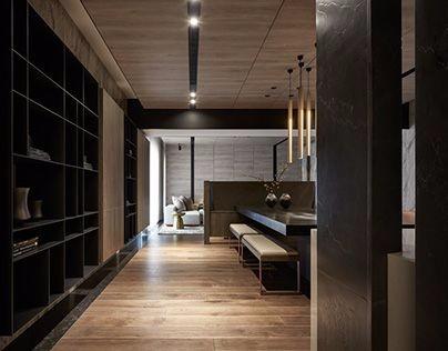 小清新客厅图纸设计