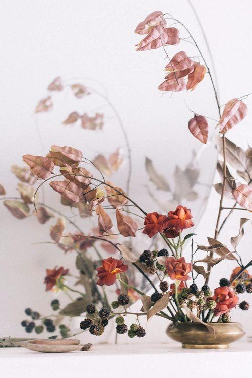 小清新插花设计图片稿