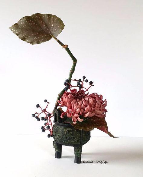 唯美插花灵感图 设计