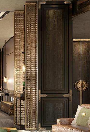 流行中式酒店设计图库