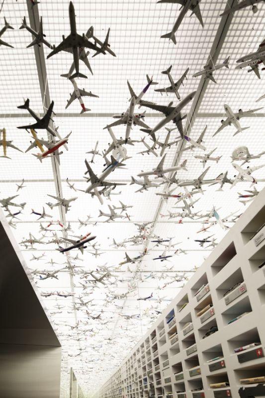 展厅设计,展示设计飞机