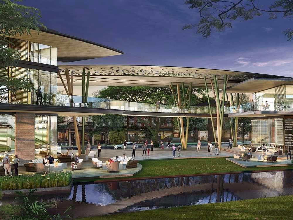 现代shopping mall设计图片