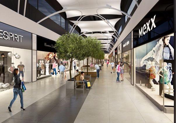 现代风格shopping mall方案