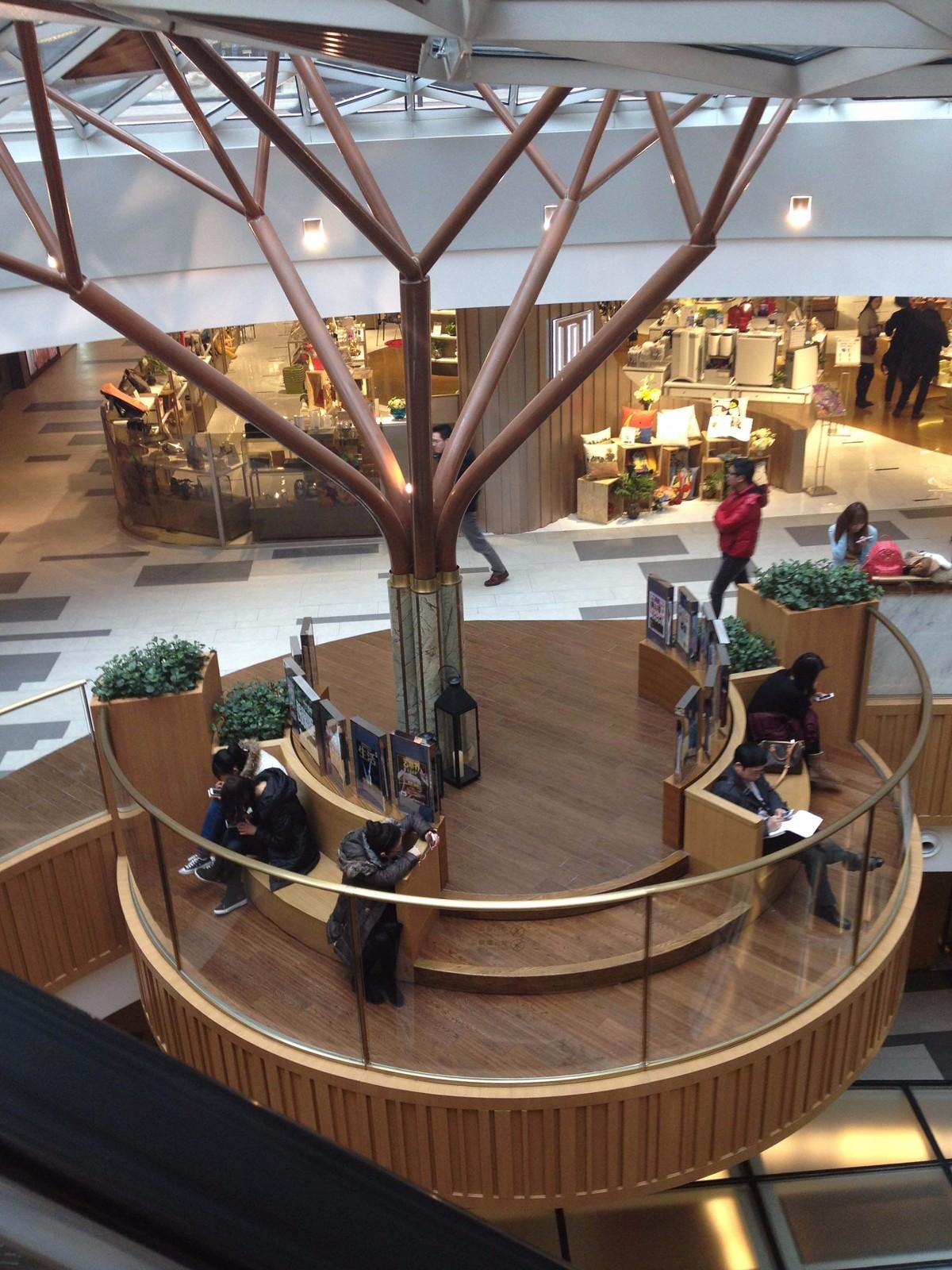 未来风格购物中心设计概念