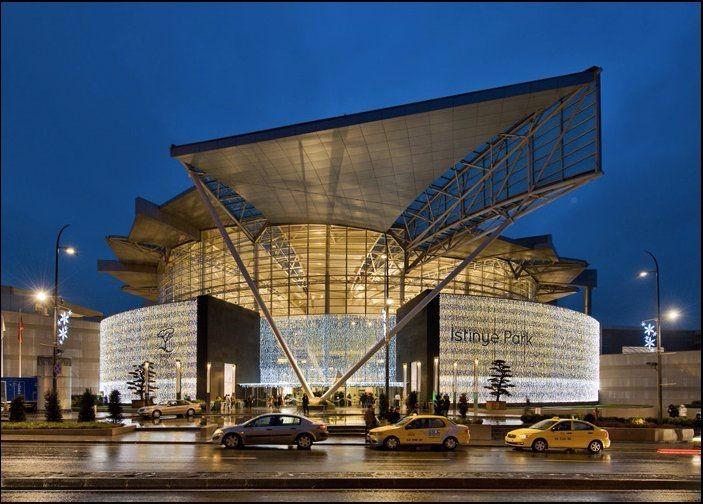 未来风格shopping mall概念