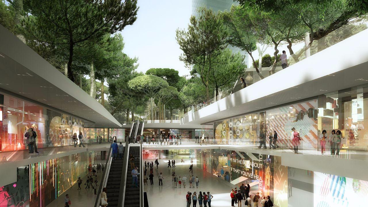 现代感风格购物中心设计案例