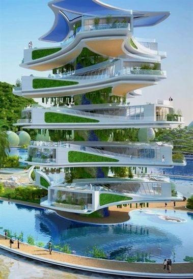 未来建筑参考设计