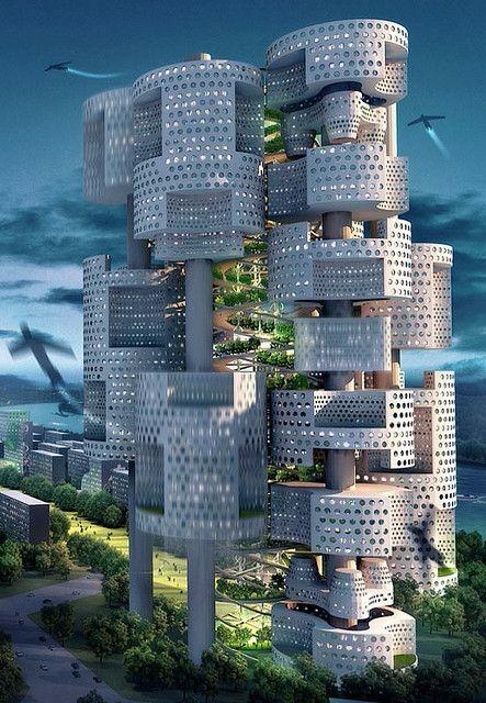 未来建筑如何设计