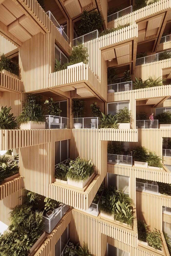 高清未来建筑