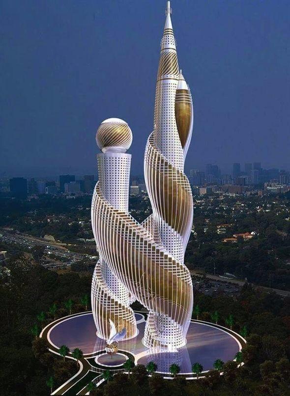 效果国 未来建筑