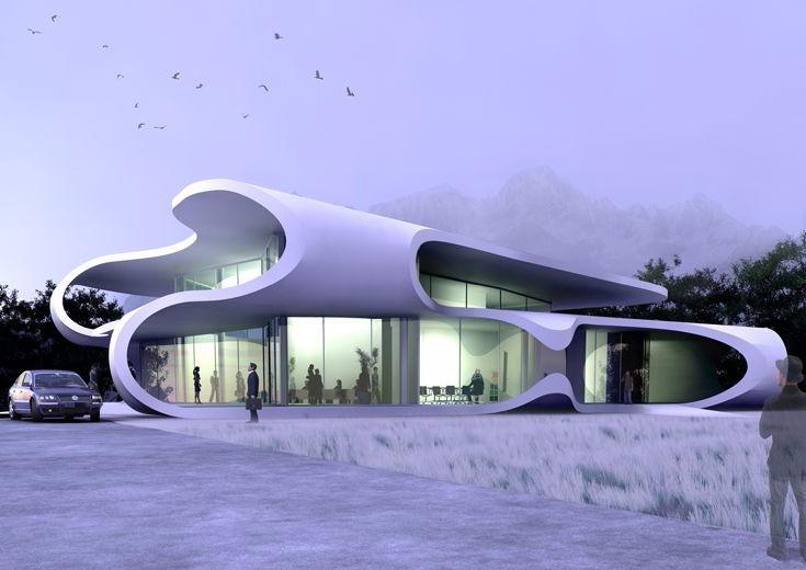 作品集 设计 未来建筑