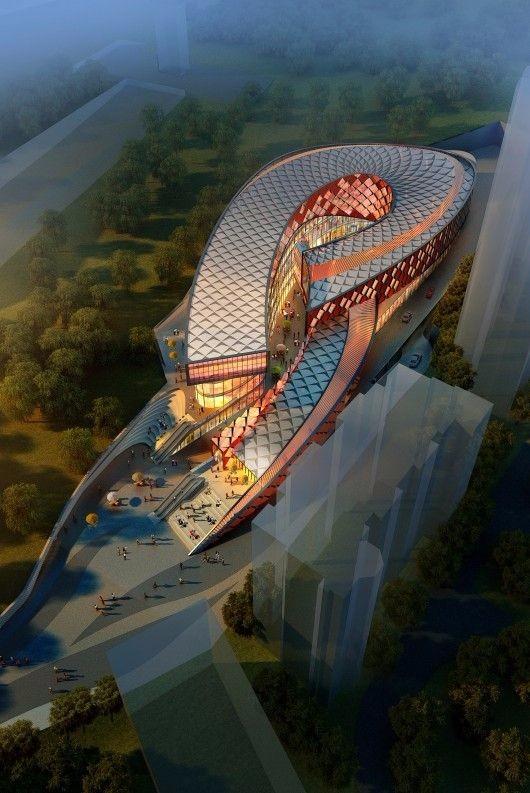 未来建筑 图片设计
