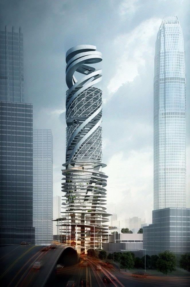 创意未来建筑高清图