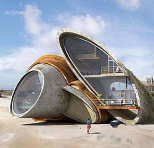 创意未来建筑图设计设计