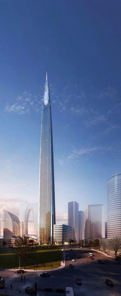 特色未来建筑设计稿图