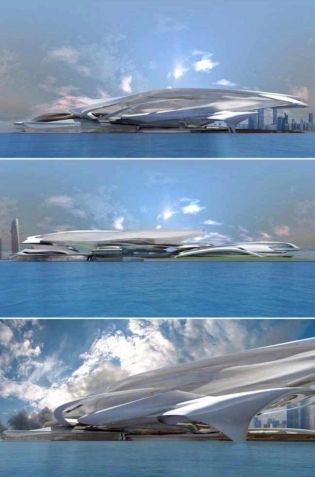 高端未来建筑设计作品集