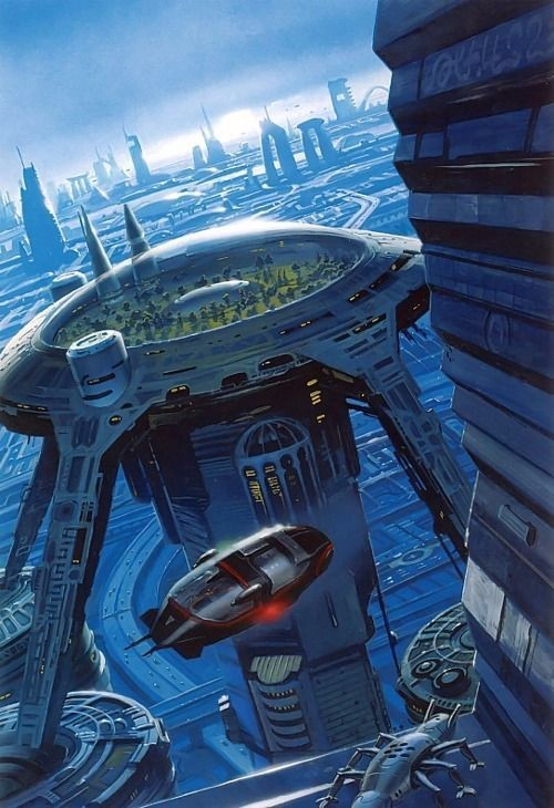 经典未来建筑高清图设计
