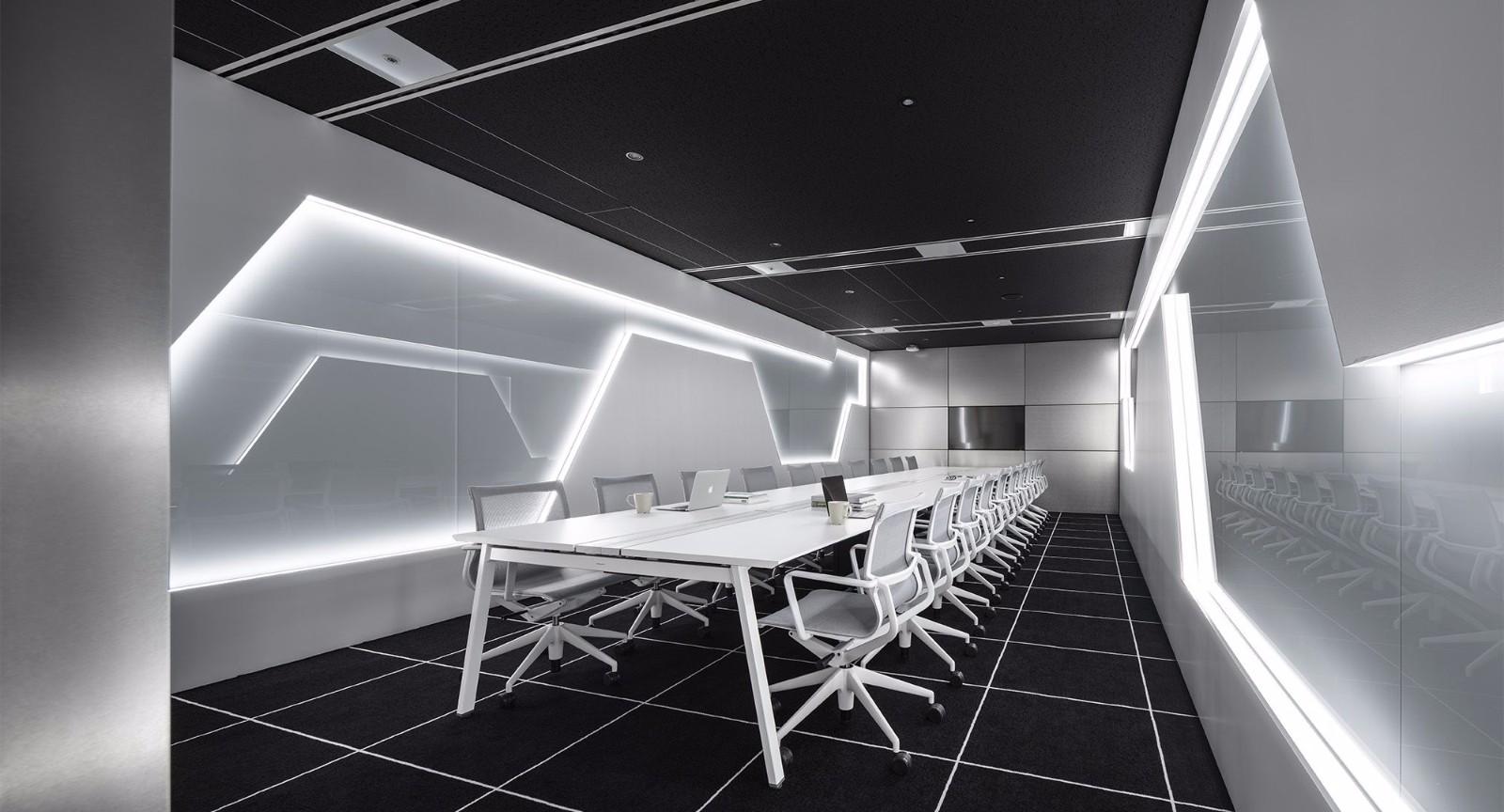 带未来感的会议室
