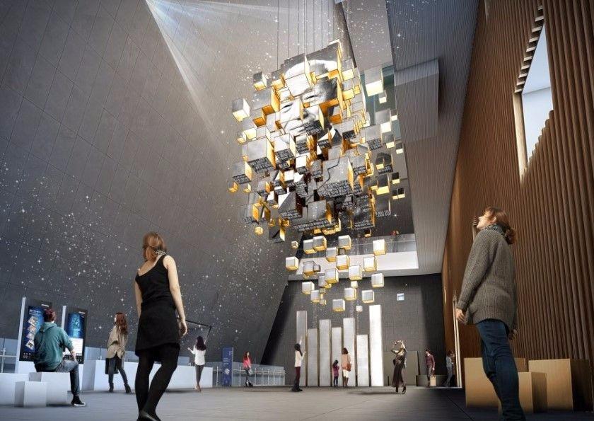 国外网红演示厅设计参考